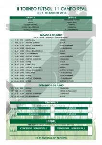 Horarios Torneo Camporal
